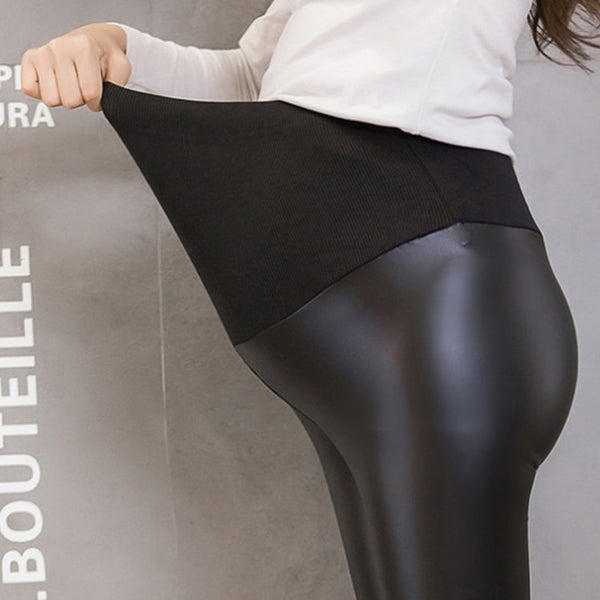 Leather Maternity Pants - The Childrens Firm