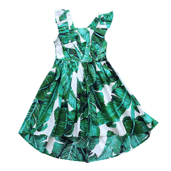 Leafy Things Dress - The Childrens Firm