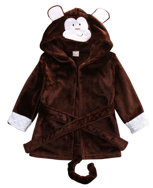 Cute Lilttle Animal Robe - The Childrens Firm