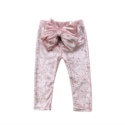 Bowknow Velvet Pants - The Childrens Firm