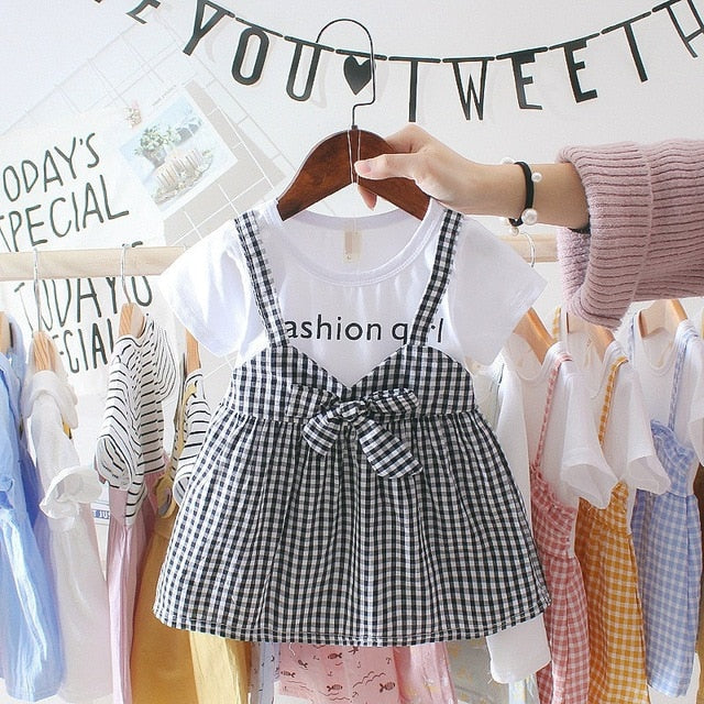 Fashion Tee Dress - The Childrens Firm