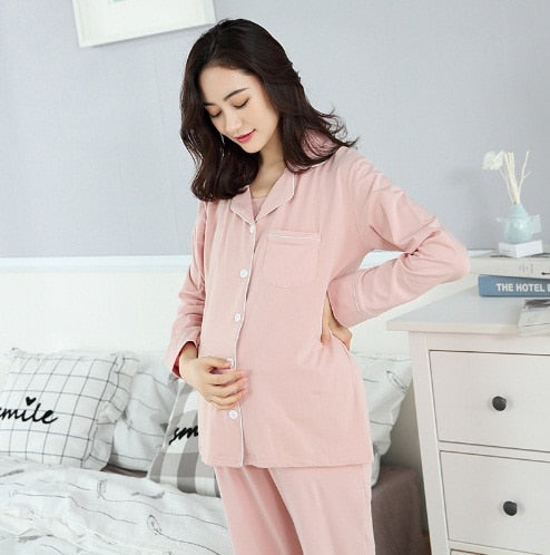 Maternity Soft Pajama Set - The Childrens Firm