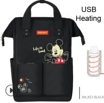Disney Themed Special USB Luxury Diaper Bag - The Childrens Firm
