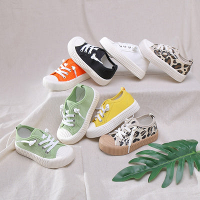 Trendy Low Top Laced Sneakers - The Childrens Firm