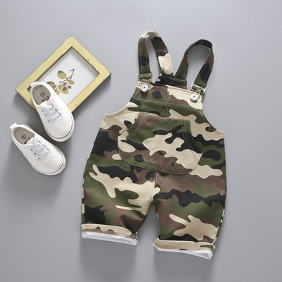Camo Overalls - The Childrens Firm