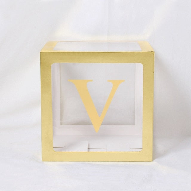 Baby Shower Decor Boxes - The Childrens Firm