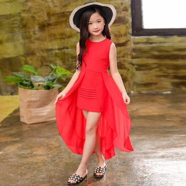 Princess Chiffon Dress - The Childrens Firm