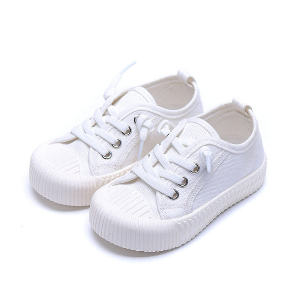 Trendy Low Top Laced Sneakers