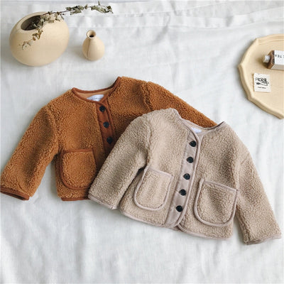 Wool Baby Coat - The Childrens Firm