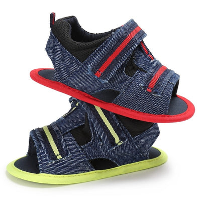 Denim Canvas Sandals - The Childrens Firm