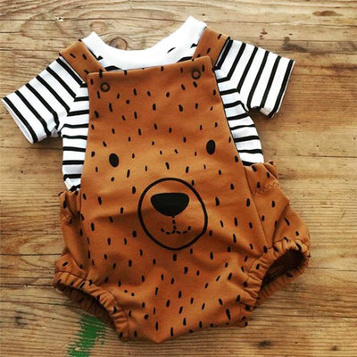 Beary Adorable Overalls - The Childrens Firm