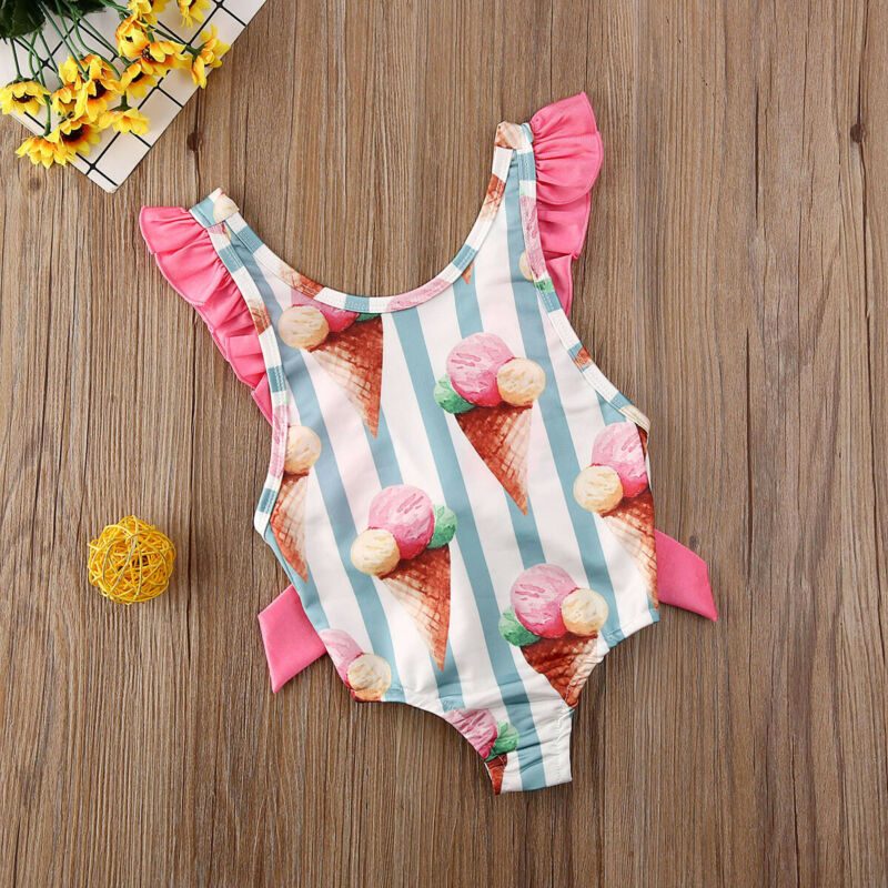 Ice-Cream Cone Swimsuit - The Childrens Firm