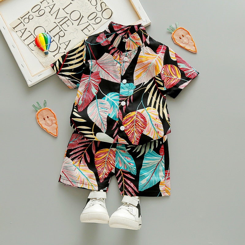 Koolest Kidd Floral Set - The Childrens Firm
