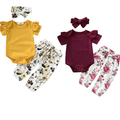 Cali Floral Set - The Childrens Firm