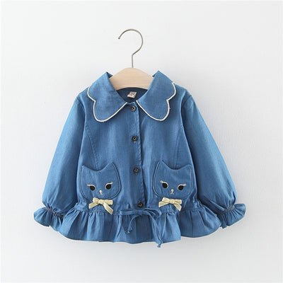 Kitty Denim Jacket - The Childrens Firm