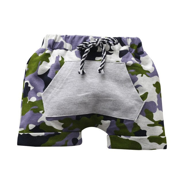 Camo Loose Shorts - The Childrens Firm