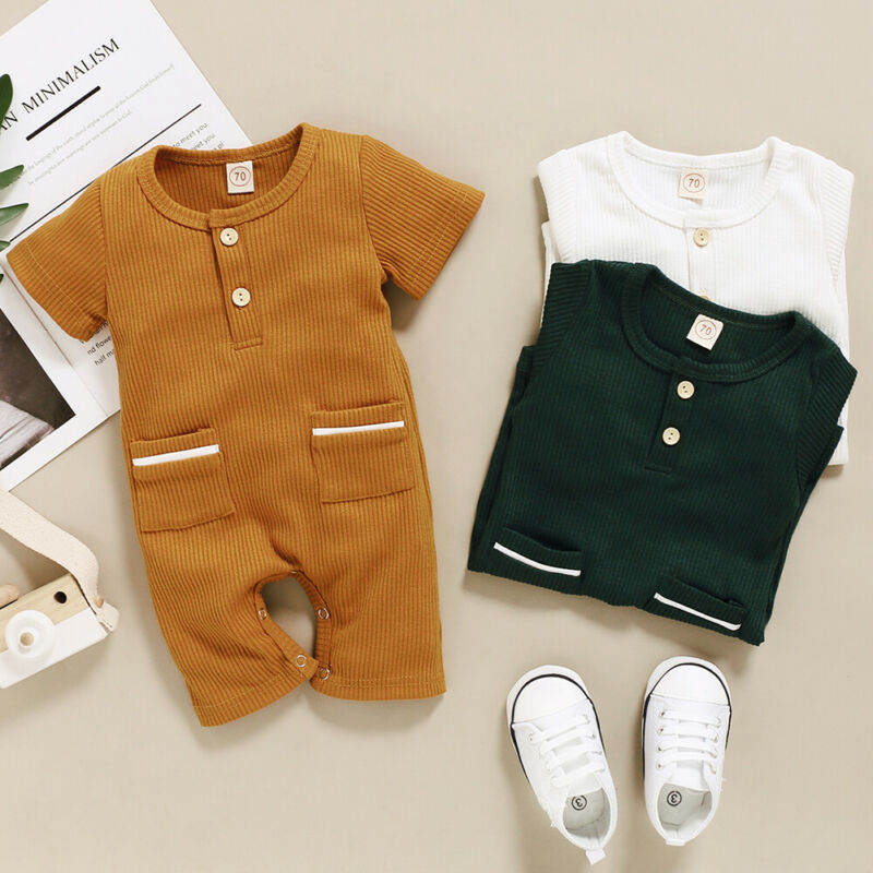 Casual Cute Pocket Jumpsuit - The Childrens Firm