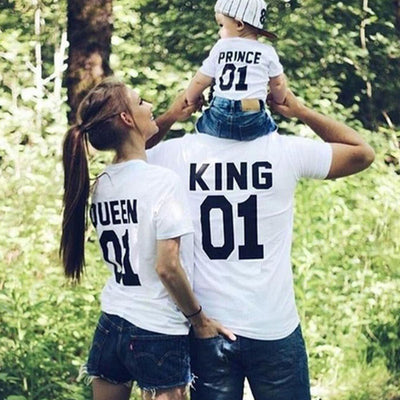 Royal Family Matching Tees - The Childrens Firm