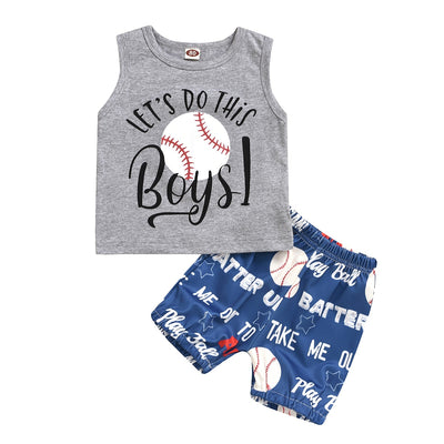 Boys Baseball 2 Piece Set - The Childrens Firm