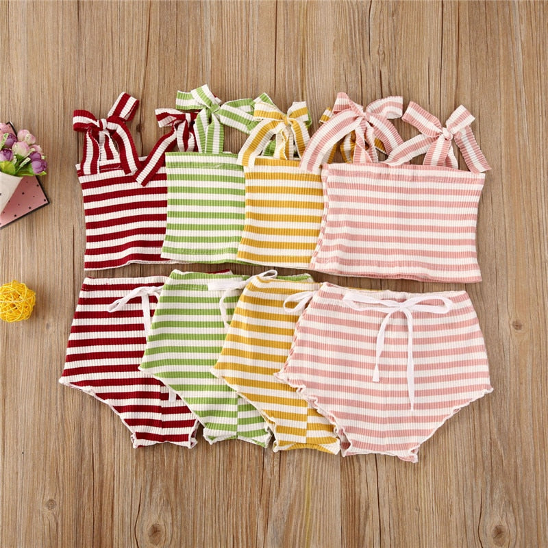 Summer Tie-Up Set - The Childrens Firm