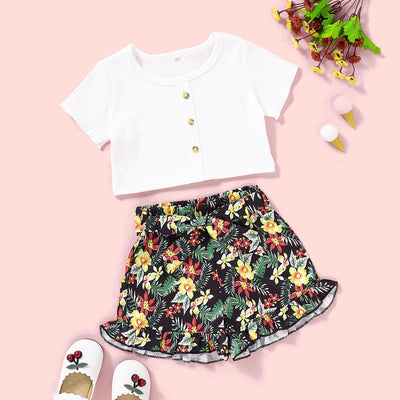 Layla Floral Set - The Childrens Firm