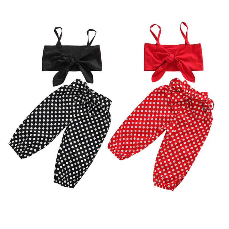 Ivy Polka Dot Set - The Childrens Firm