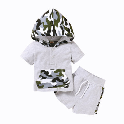 Grey Tone Camo Set - The Childrens Firm