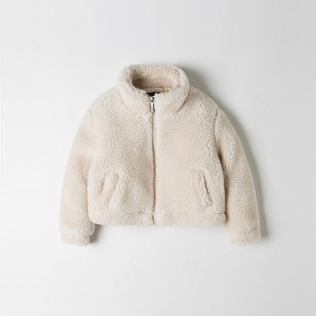 Plush Cozy Windbreaker