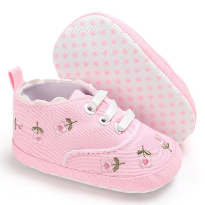 Pretty Flower Baby First Walkers - The Childrens Firm