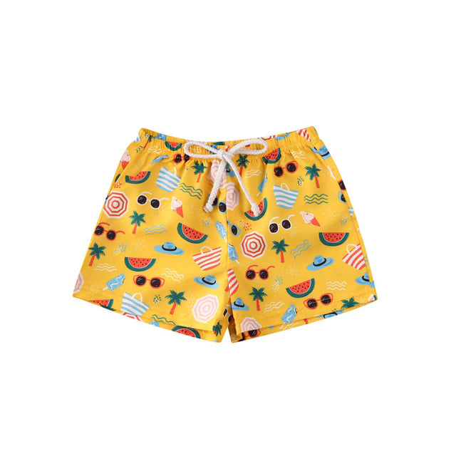 Graphic Beach Style Shorts - The Childrens Firm