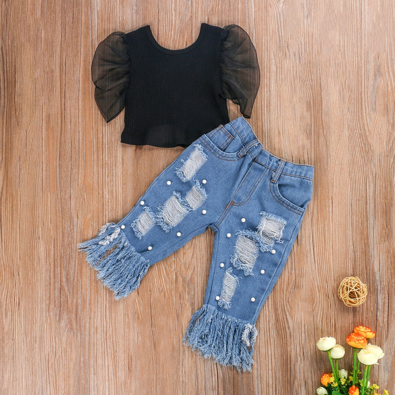 Luxxy Jean Set - The Childrens Firm