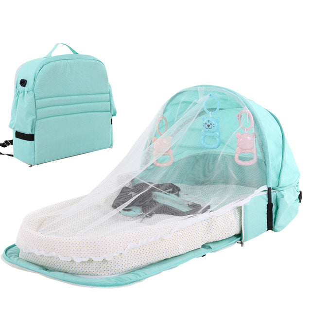 Deluxe Portable Folding Bassinet - The Childrens Firm