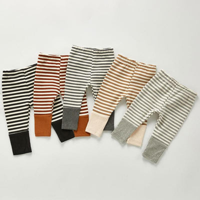 Striped Patchwork Leggings - The Childrens Firm