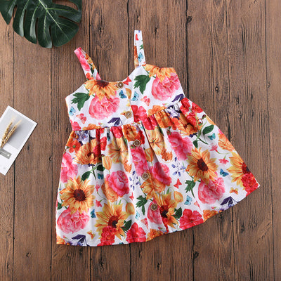 Marvy Floral Dress - The Childrens Firm