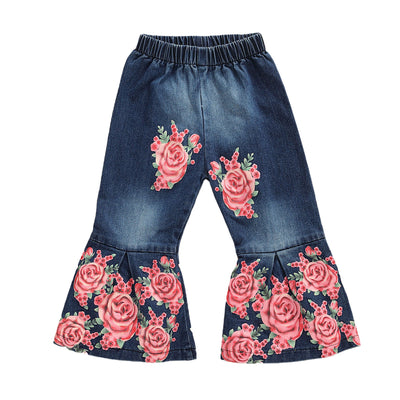 Rosey Galore Bell Bottoms - The Childrens Firm