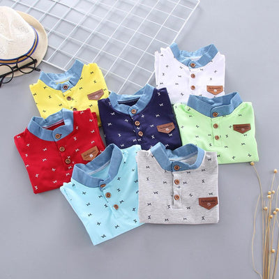 Printed Collar Shirts - The Childrens Firm