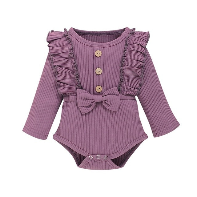 Lillies Little Ribbed Romper