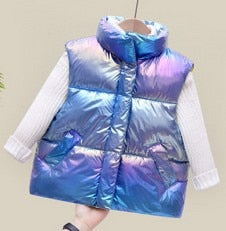 Holographic Heavy Weight Vest
