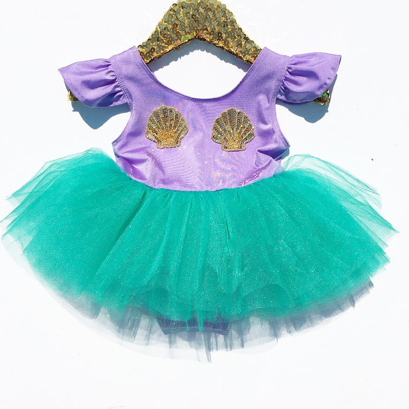 Mermaid Tutu Dress - The Childrens Firm
