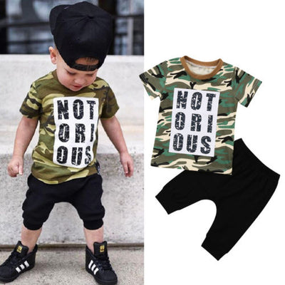 Notorious Shorts Set - The Childrens Firm
