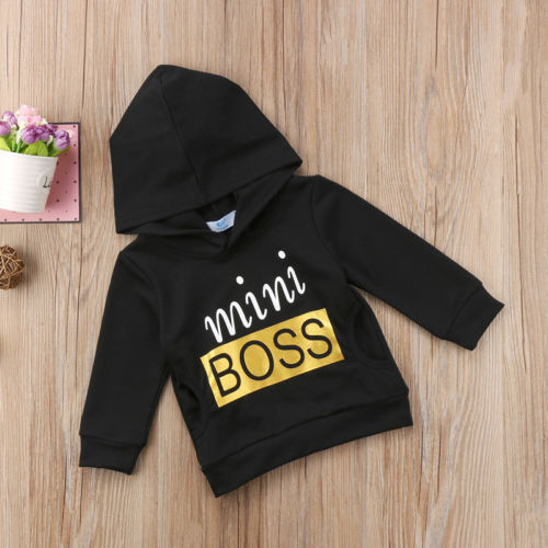 Mini Boss Hoodie - The Childrens Firm