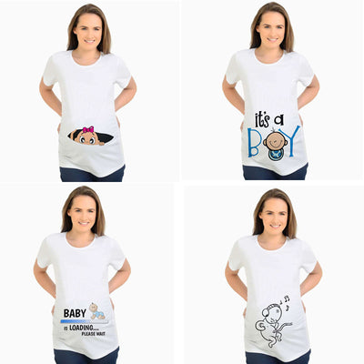 Baby Bump Tshirts - The Childrens Firm
