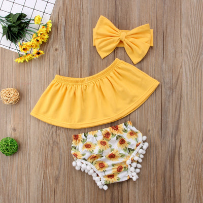 Sunflower Baby 3pc Set - The Childrens Firm