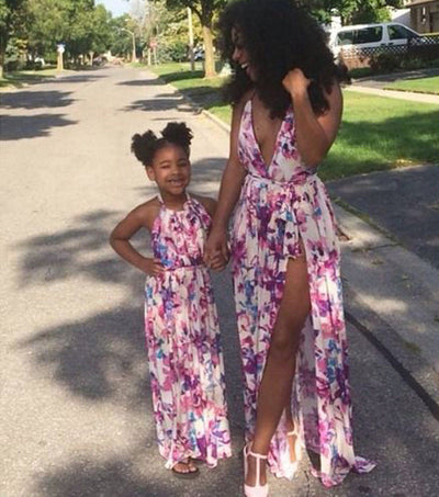 Mommy & Me Floral Sundress - The Childrens Firm