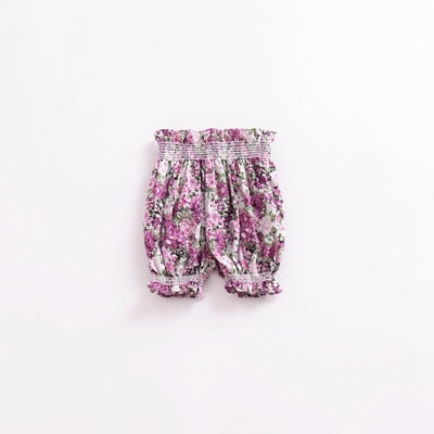 Baby Girls Patterned Trousers - The Childrens Firm