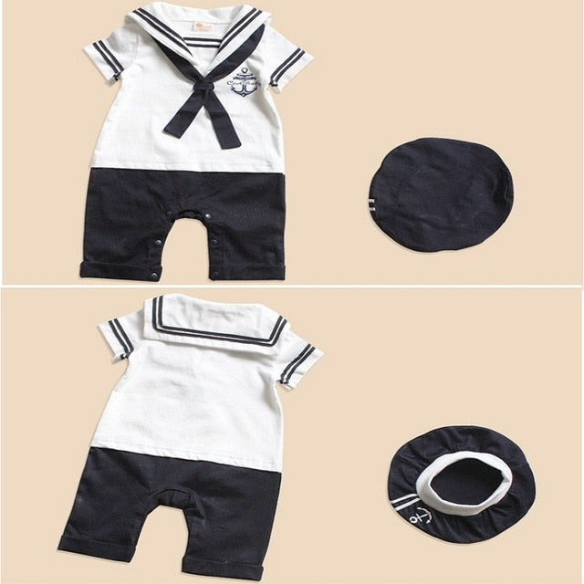 Sailor Baby Outfit Set - The Childrens Firm