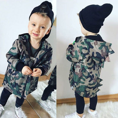 Camo Dino Jacket - The Childrens Firm
