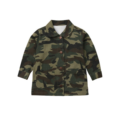 Trendy Camo Jacket - The Childrens Firm