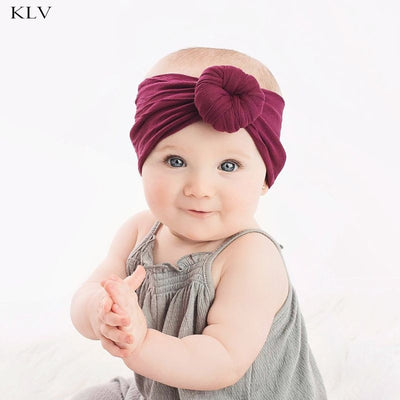 Newborn Baby Girls Turban Headband - The Childrens Firm