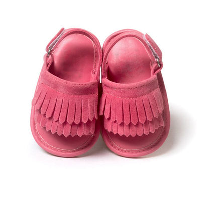 Baby Tasseled' Sandals - The Childrens Firm